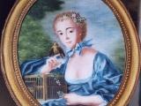 Jeune Femme d'après Boucher